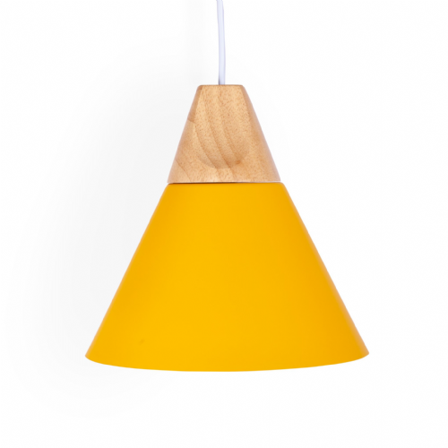 Sloped Pendant Ceiling Lights, Type A Yellow